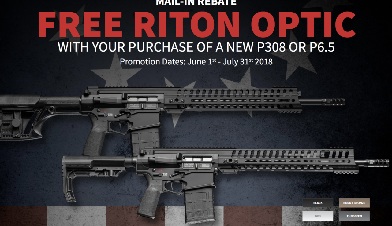 Ace Luciano recommends Riton Optics and POF AR platform rifles. Riton has some of the best optics in the industry. Buy a POF Rifle and you can get a free Riton optic to go along with it.